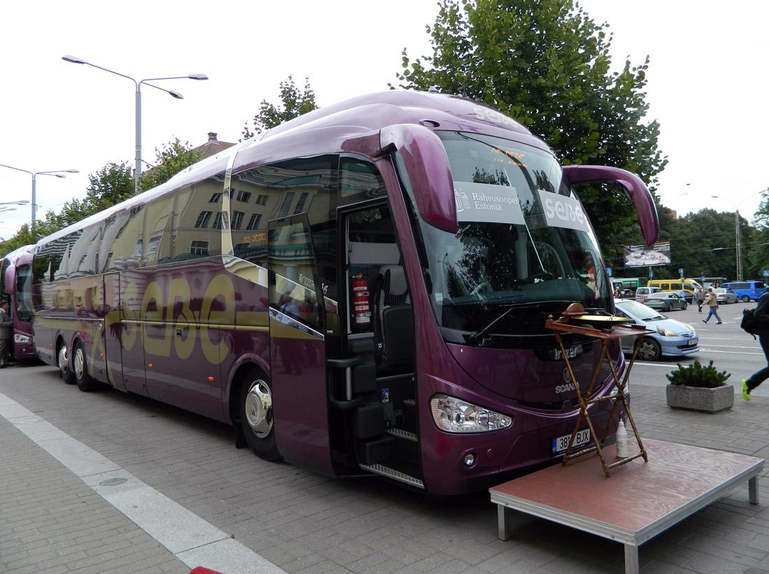 SEBE Täistunniekspressi busside tarne ja esitlused