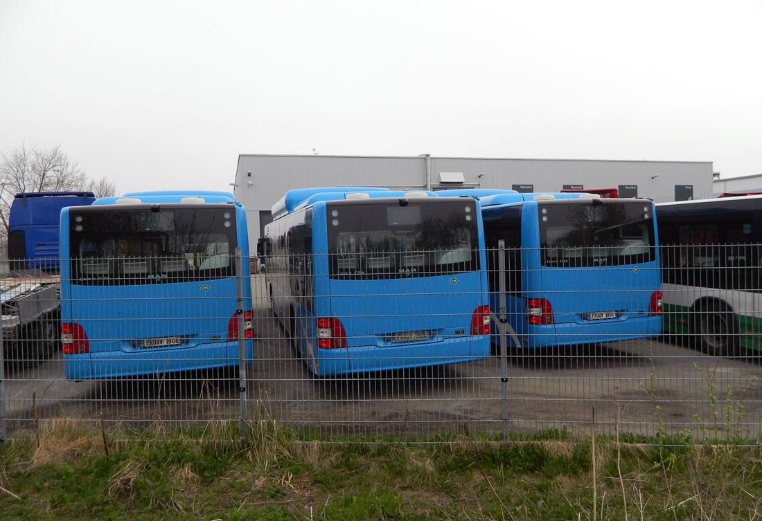 Uued MAN gaasibussid Pärnu ja Narva tarbeks