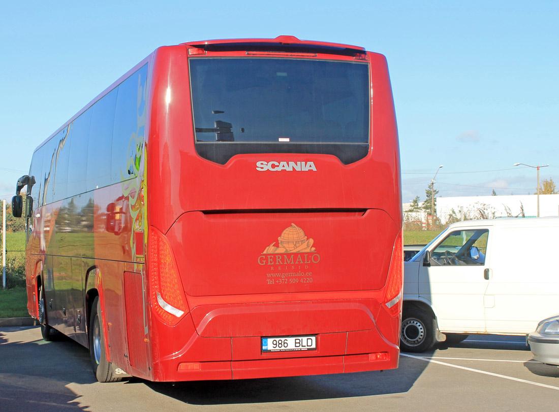 Tallinn, Scania Touring HD (Higer A80T) № 986 BLD