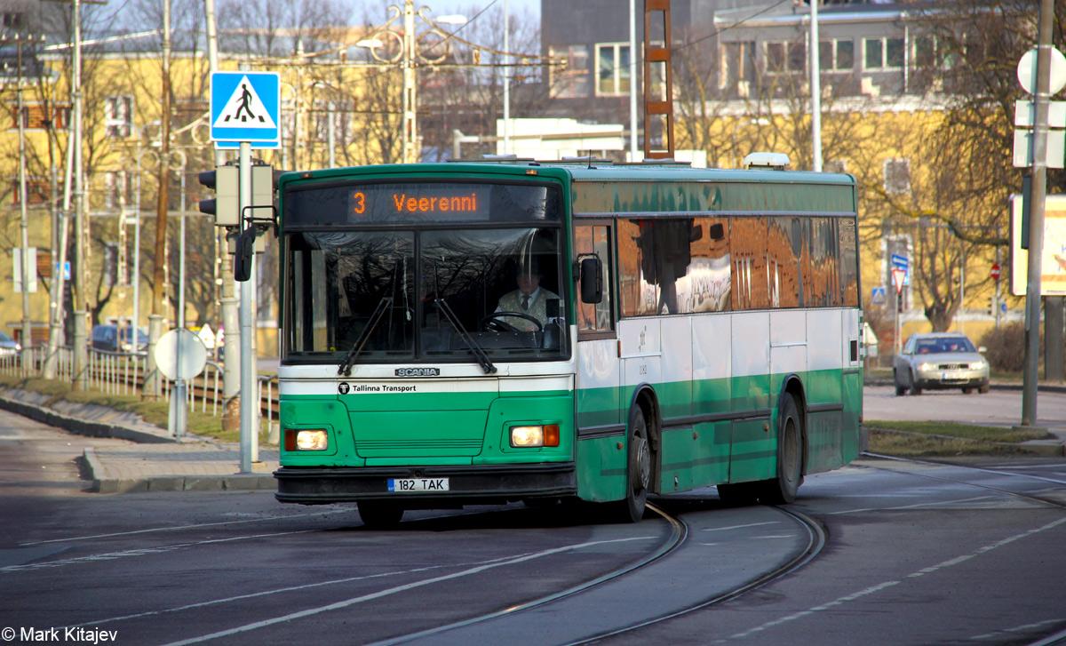 Tallinn, Duple Metsec T-56 City № 1182