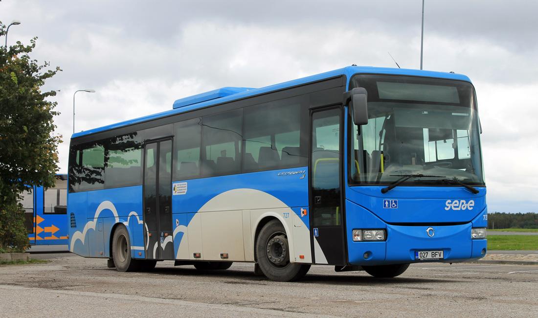 Jõhvi, Irisbus Crossway 12M № 727