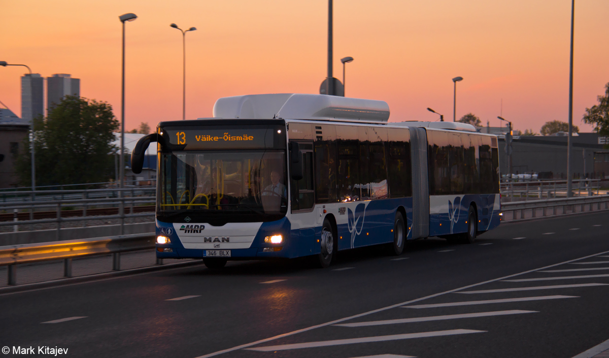 Tallinn, MAN A23 Lion's City G NG313 CNG № 346
