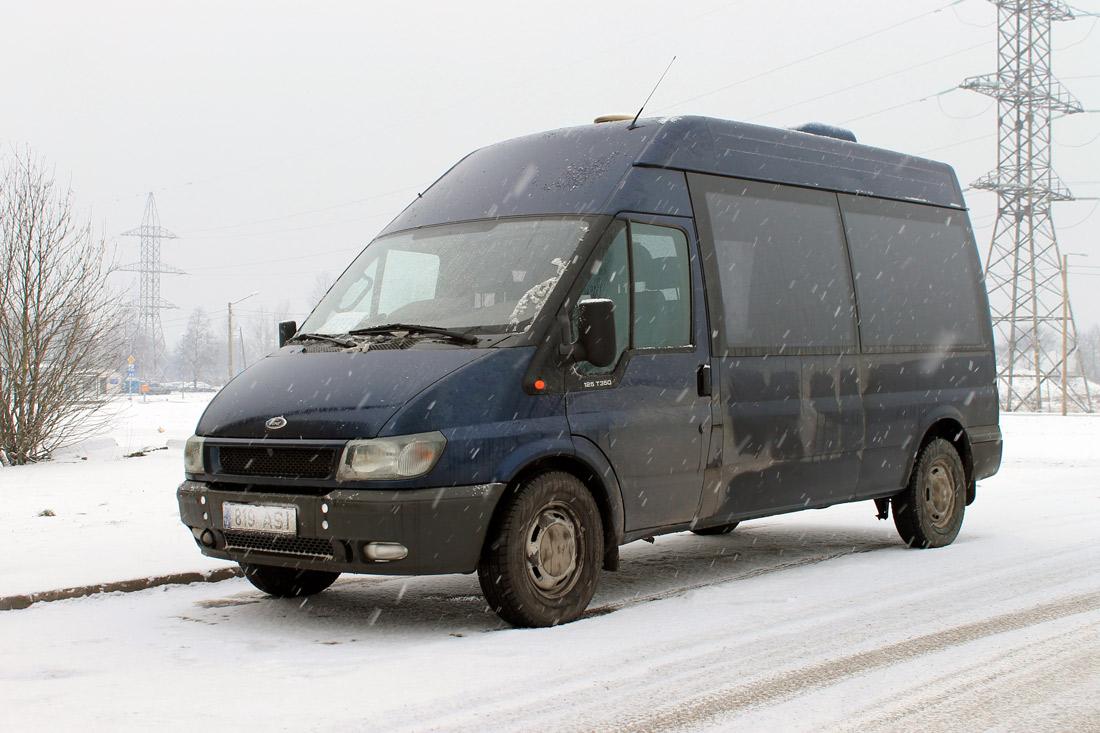 Tallinn, Ford Transit 350L № 819 ASI