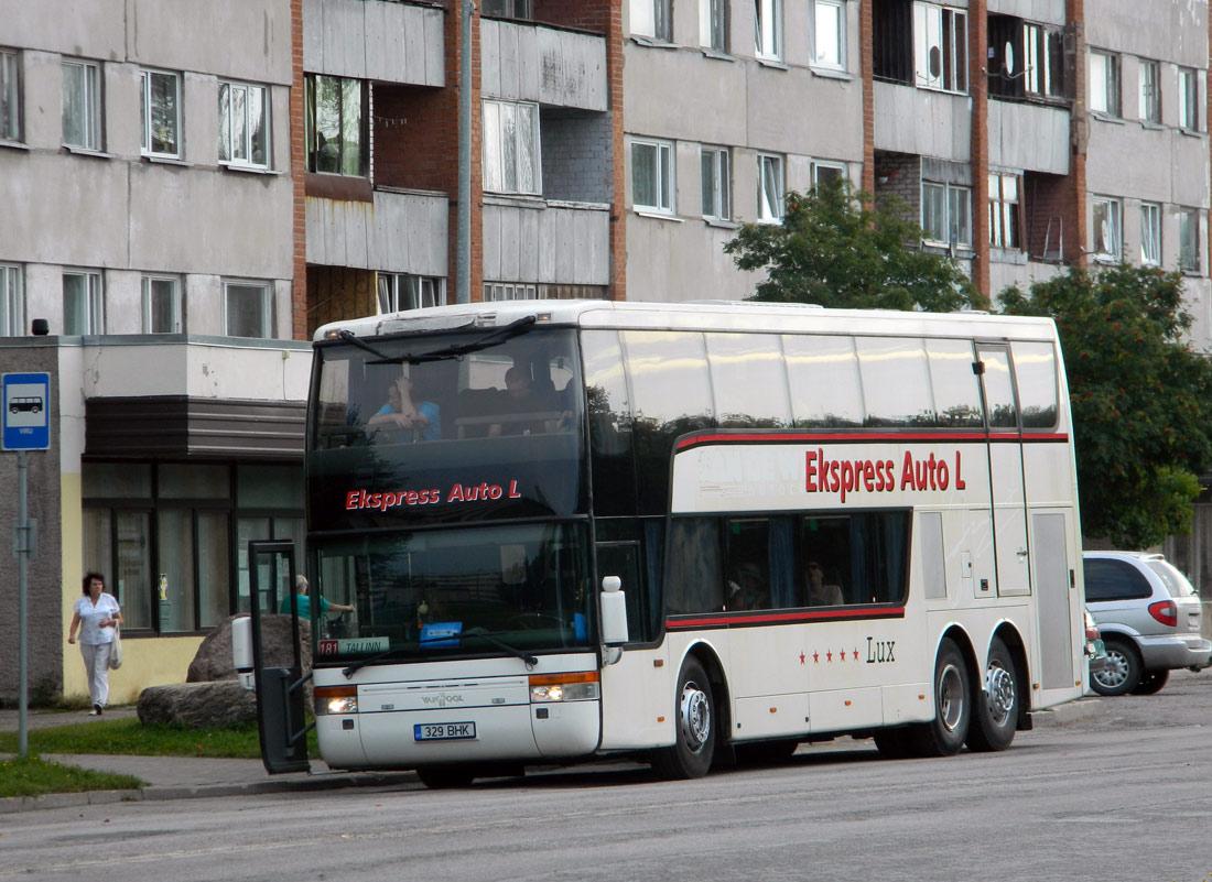 Kohtla-Järve, Van Hool TD924 Astromega № 329 BHK