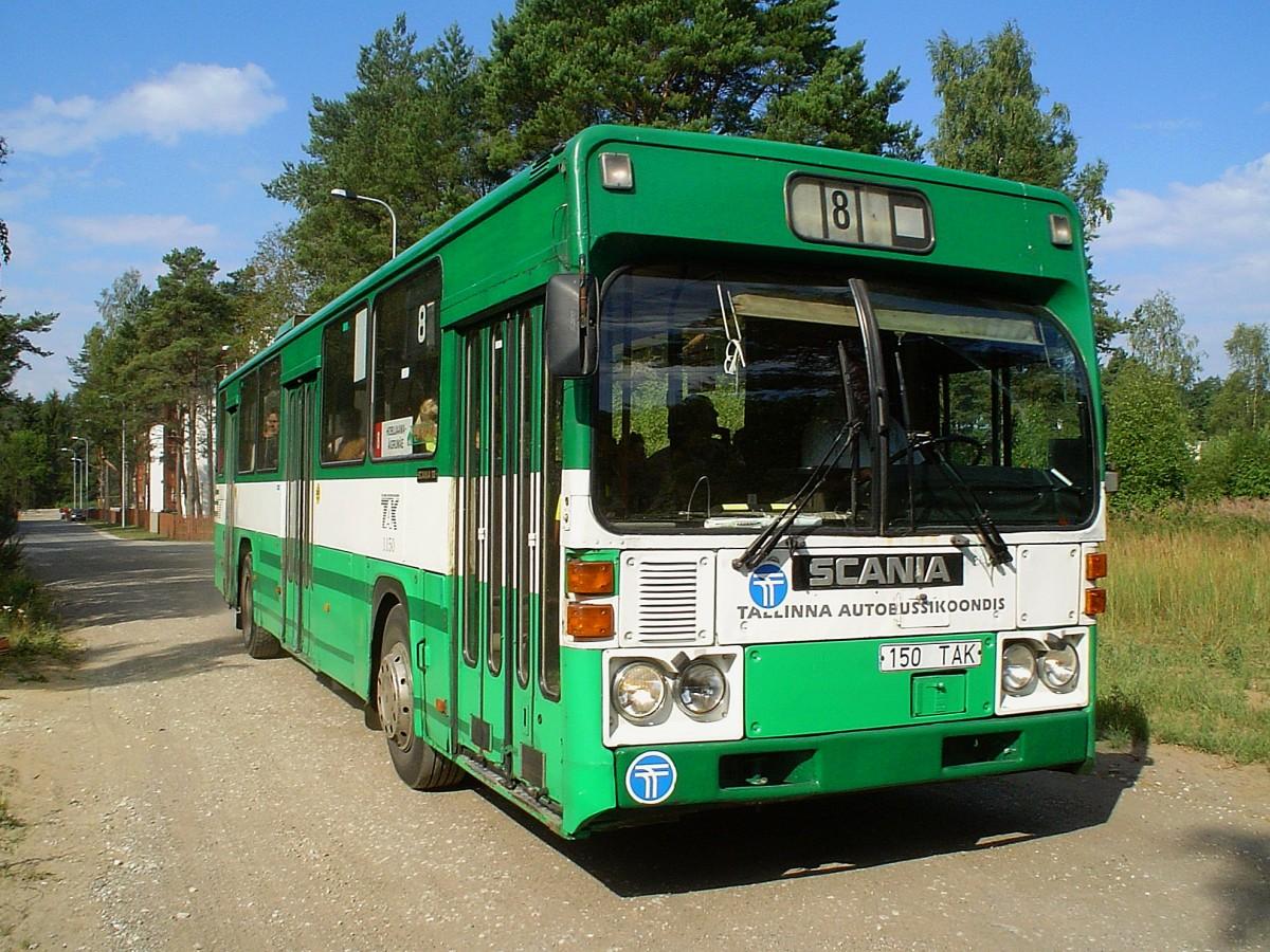 Tallinn, Scania CR112 № 1150