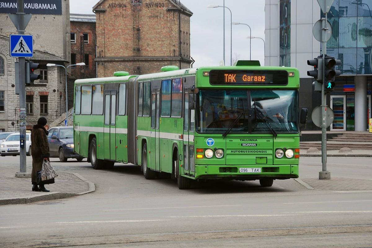 Tallinn, Scania CN113ALB № 1096