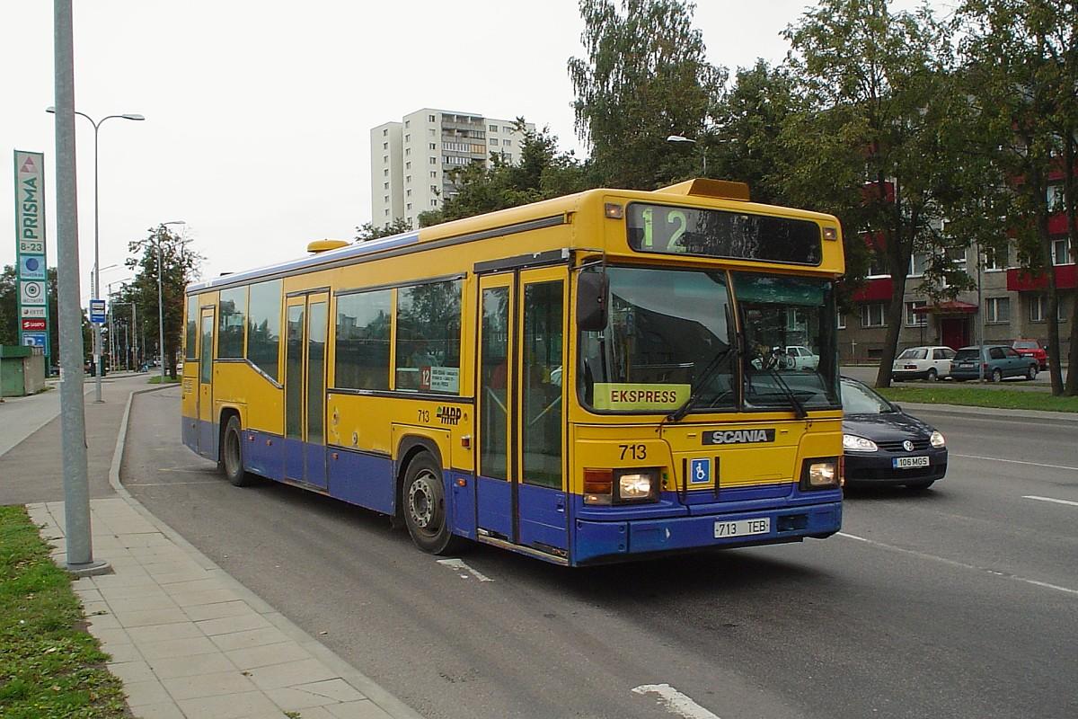 Tallinn, Scania CN113CLL MaxCi № 713