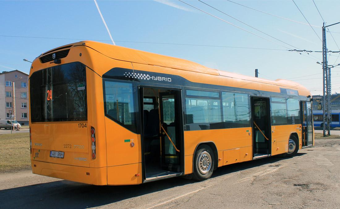 Tallinn, Volvo 7700 Hybrid № 2272