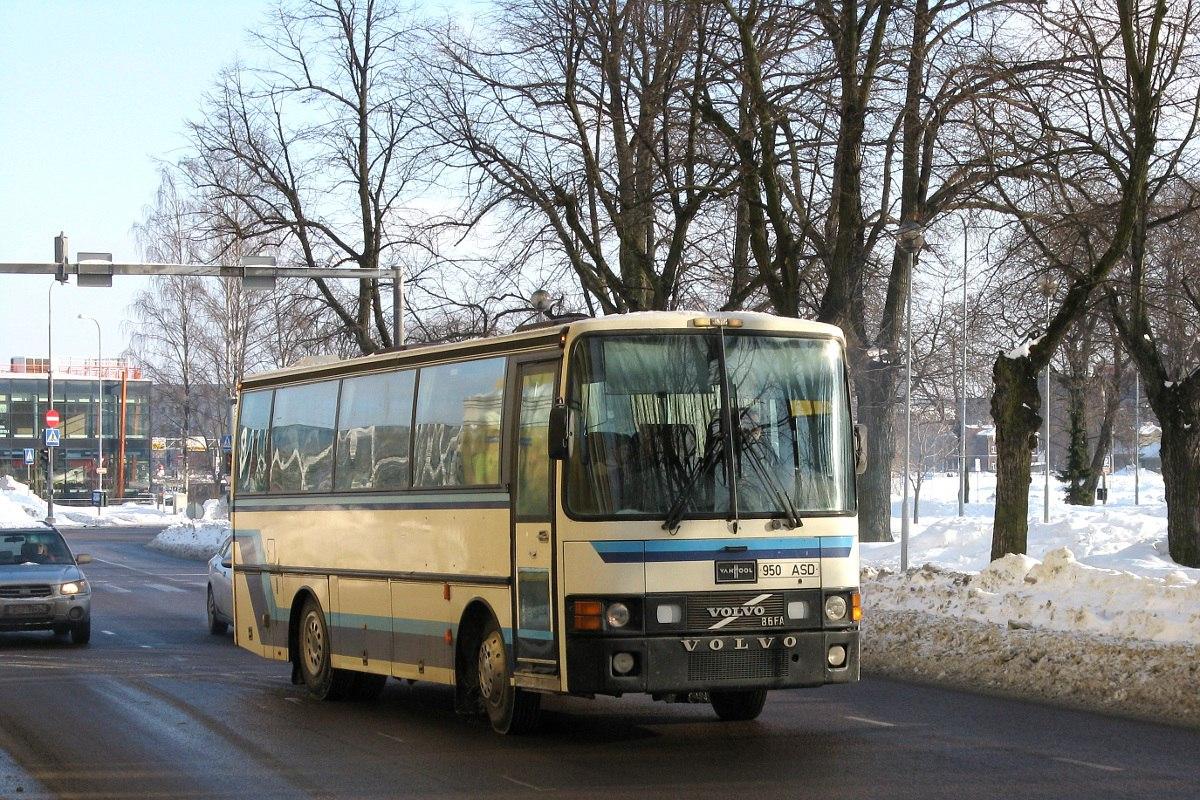 Pärnu, Van Hool T8 Alizée 210 № 950 ASD