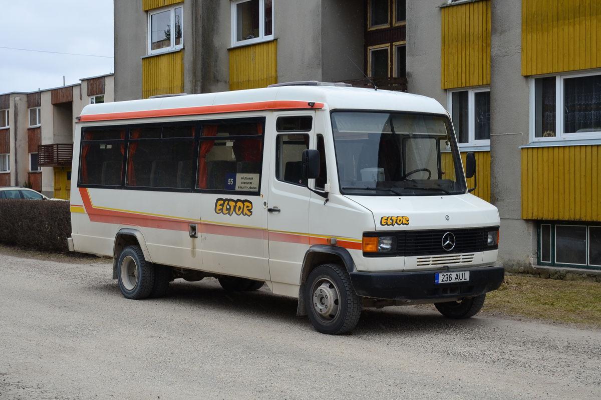 Põltsamaa, Mercedes-Benz T2 814D № 236 AUL