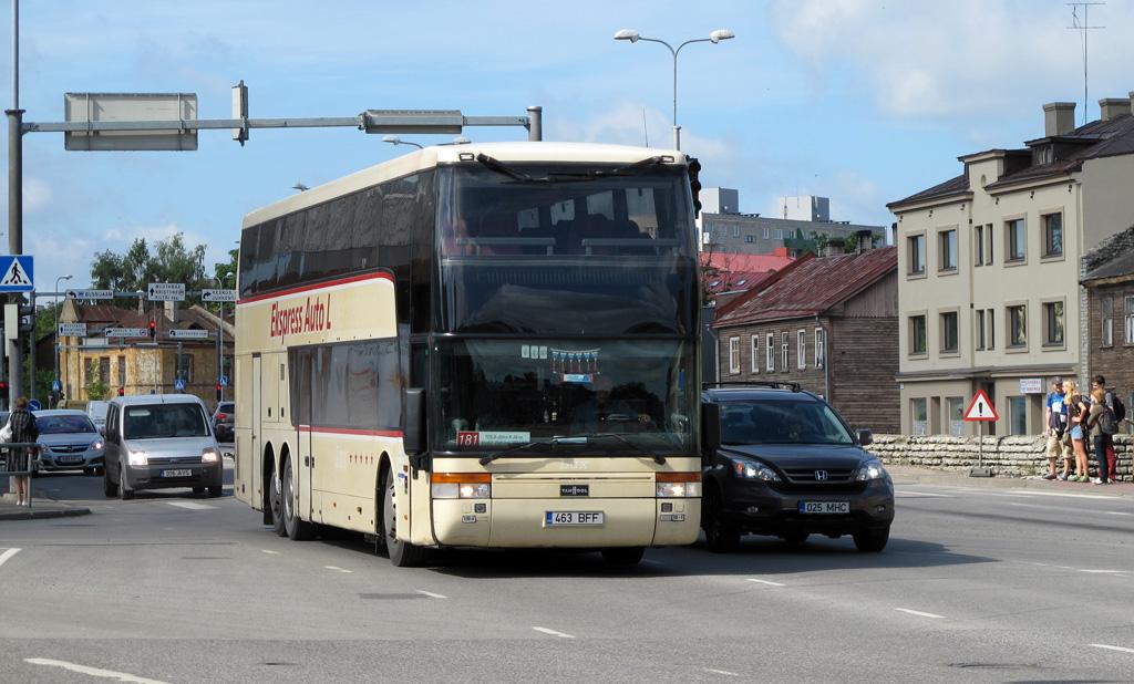 Kohtla-Järve, Van Hool TD927 Astromega № 463 BFF