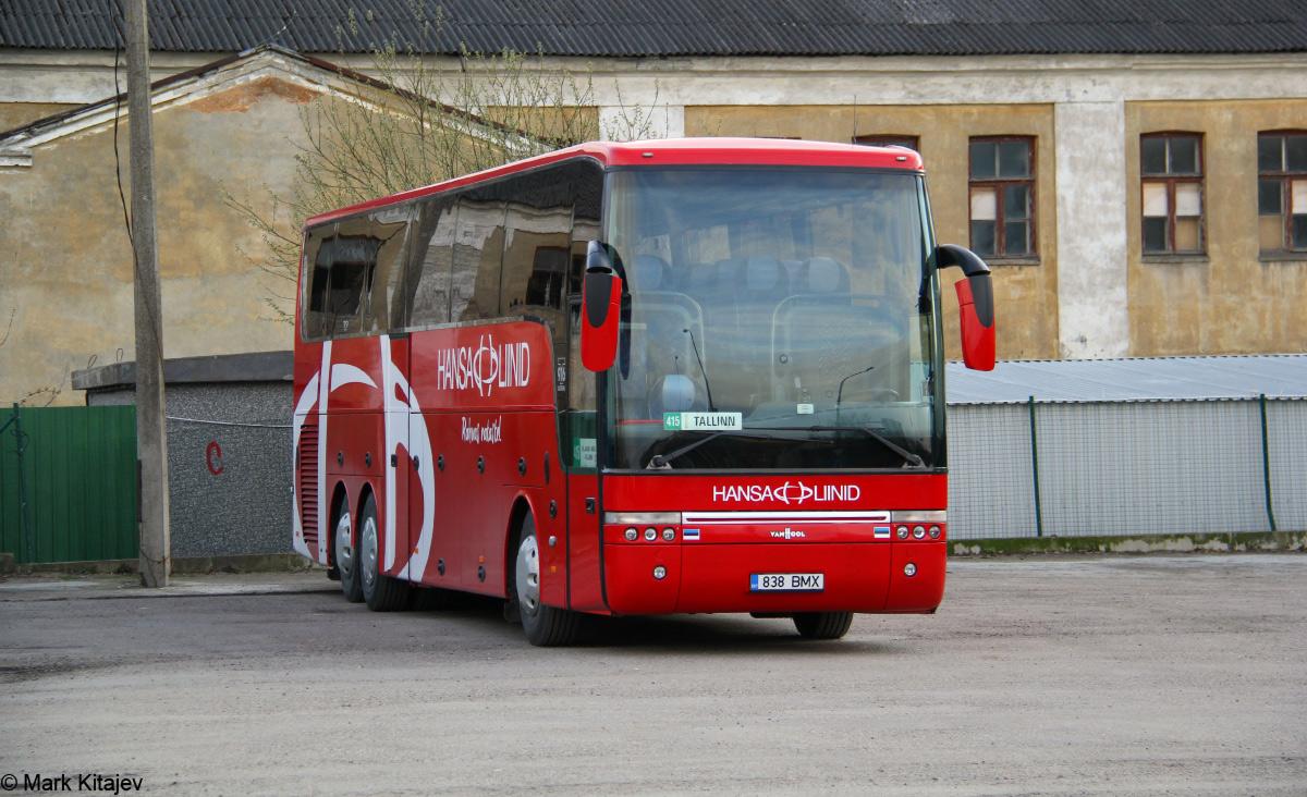Viljandi, Van Hool T916 Astron № 838 BMX