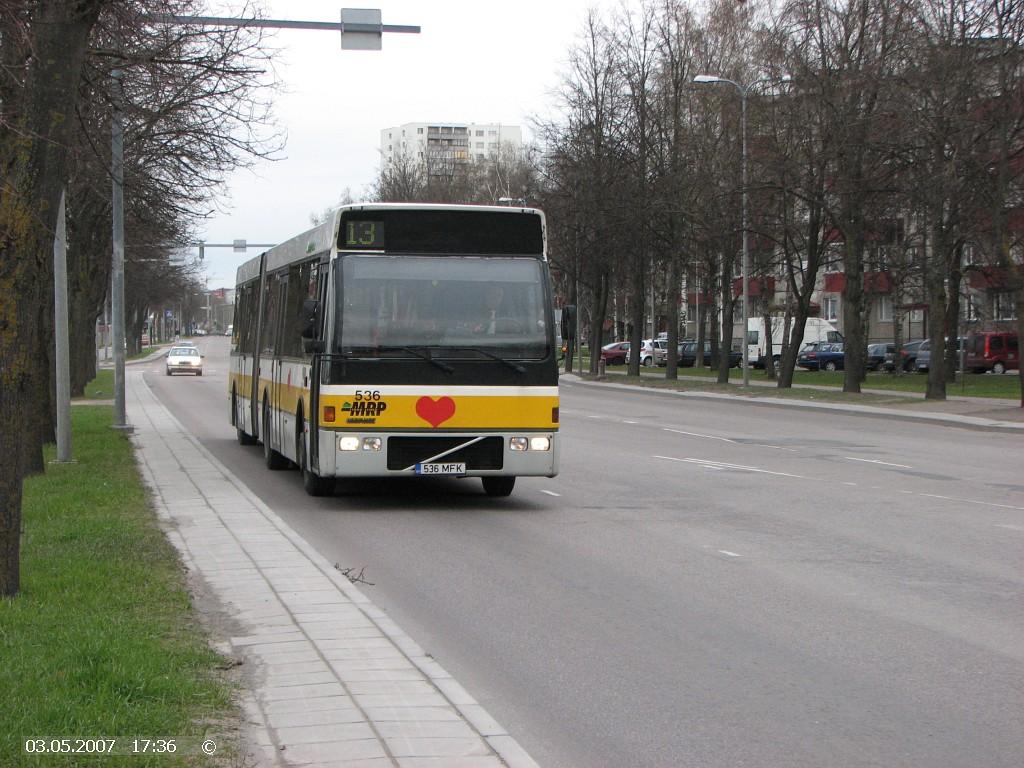 Tallinn, Berkhof Europa 2000A Duvedec № 536