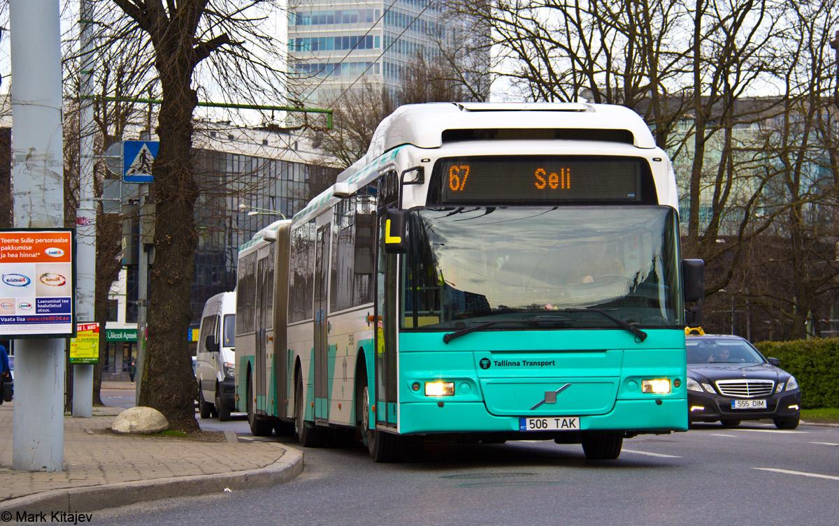 Tallinn, Volvo 7500 № 3506