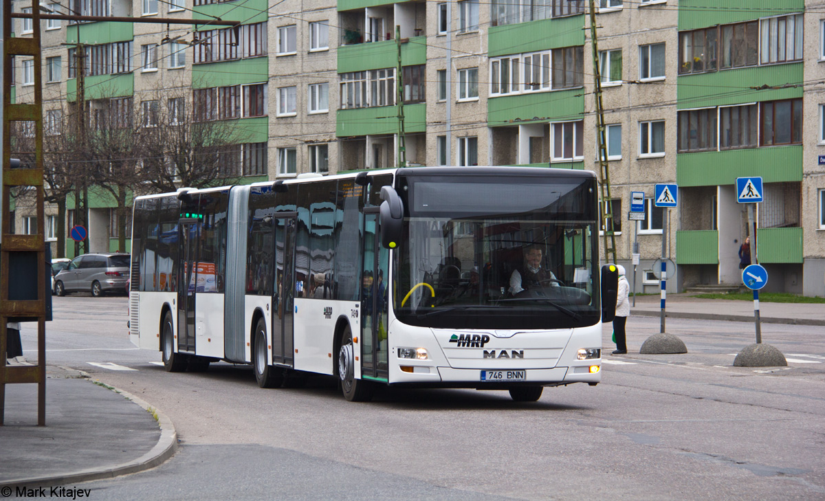 Tallinn, MAN A23 Lion's City L NG323 № 746