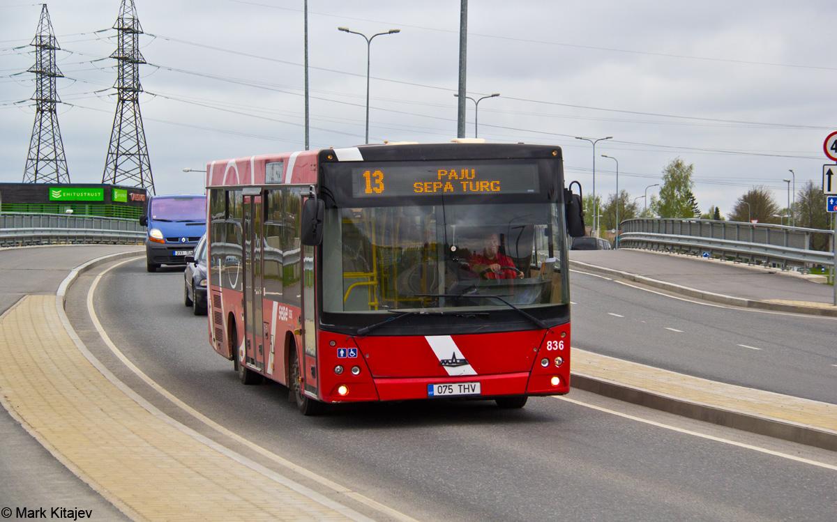 Tartu, МАЗ-206.068 № 836