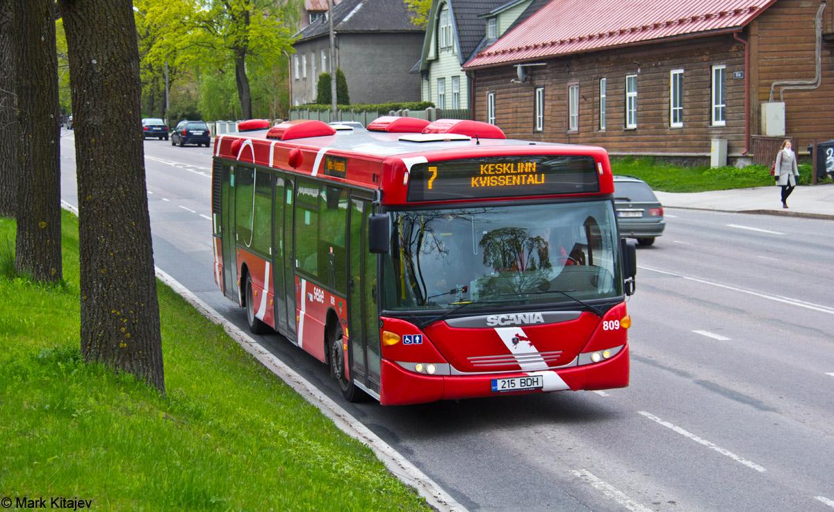 Tartu, Scania OmniCity CN230UB 4X2EB № 809