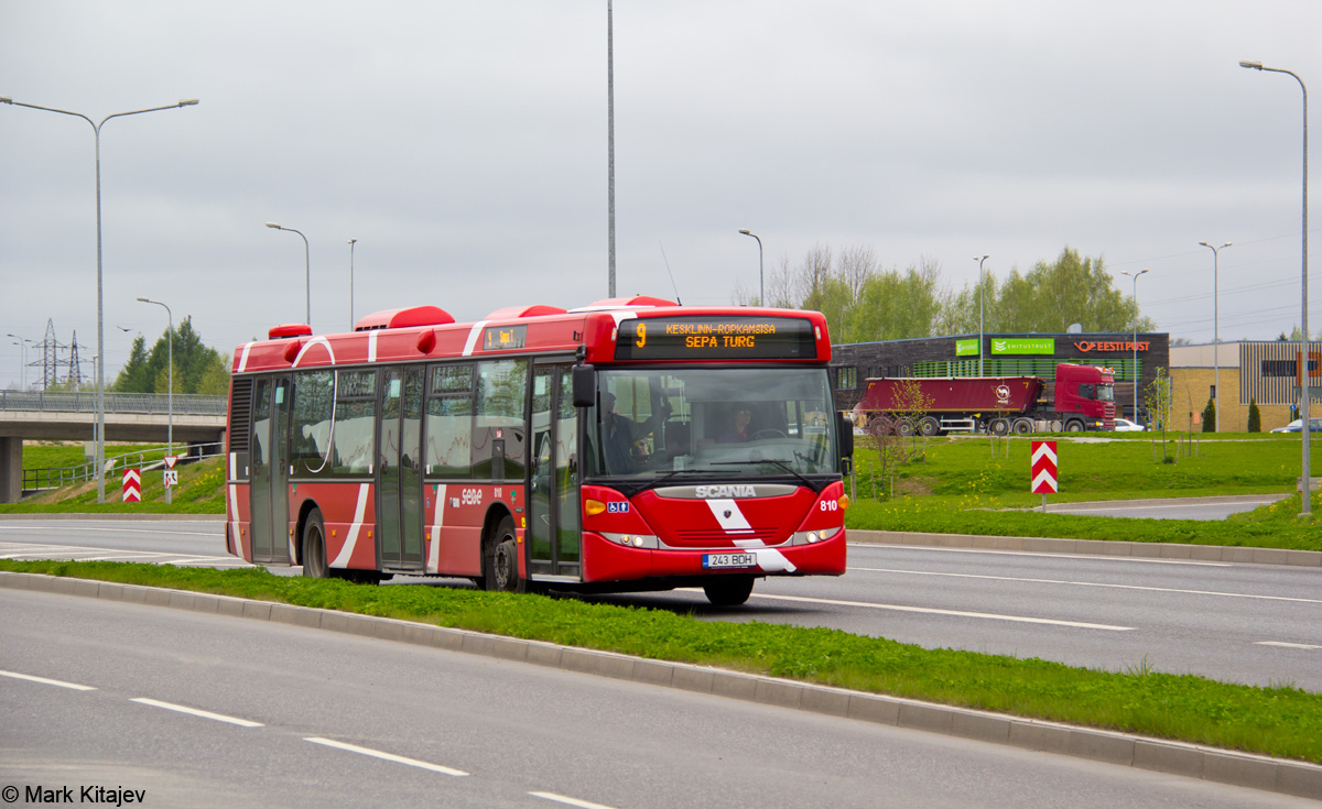 Tartu, Scania OmniCity CN230UB 4X2EB № 810