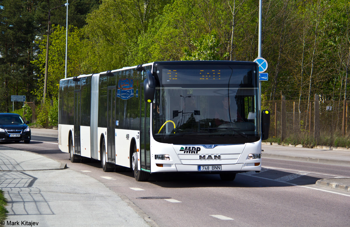 Tallinn, MAN A23 Lion's City L NG323 № 748