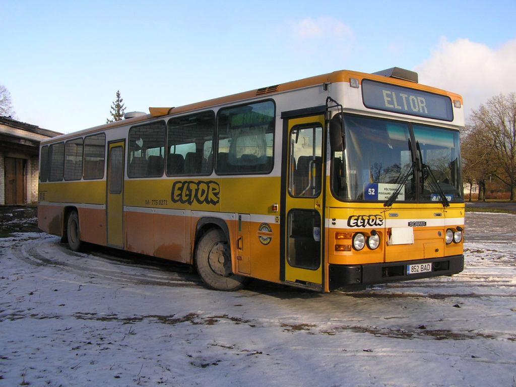 Põltsamaa, Scania CN113CLB № 852 BAD