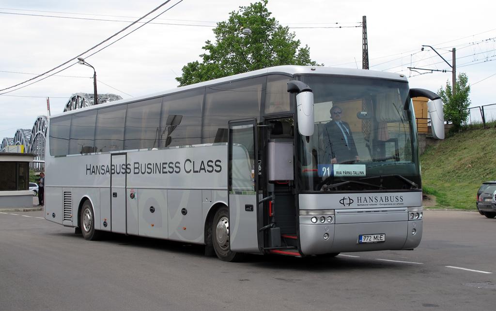 Tallinn, Van Hool T916 Alicron № 772 MLE