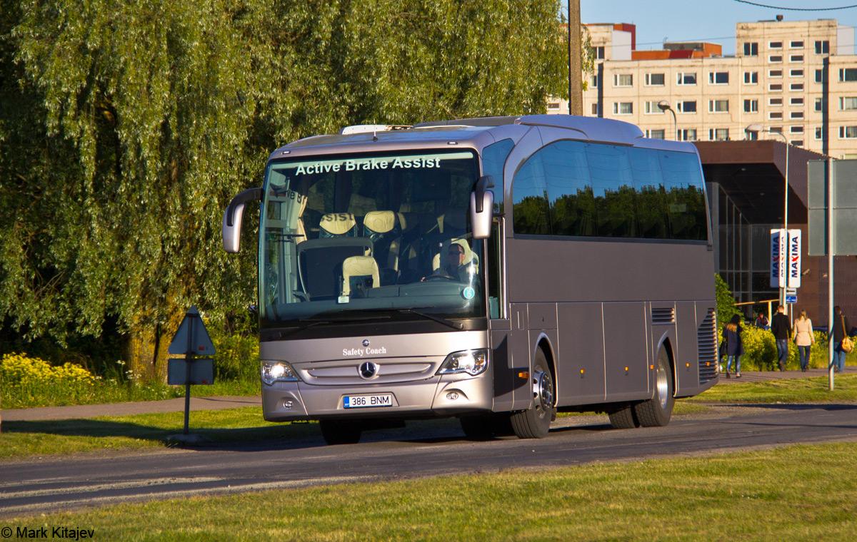 Tallinn, Mercedes-Benz O580-15RHD Travego № 386 BNM