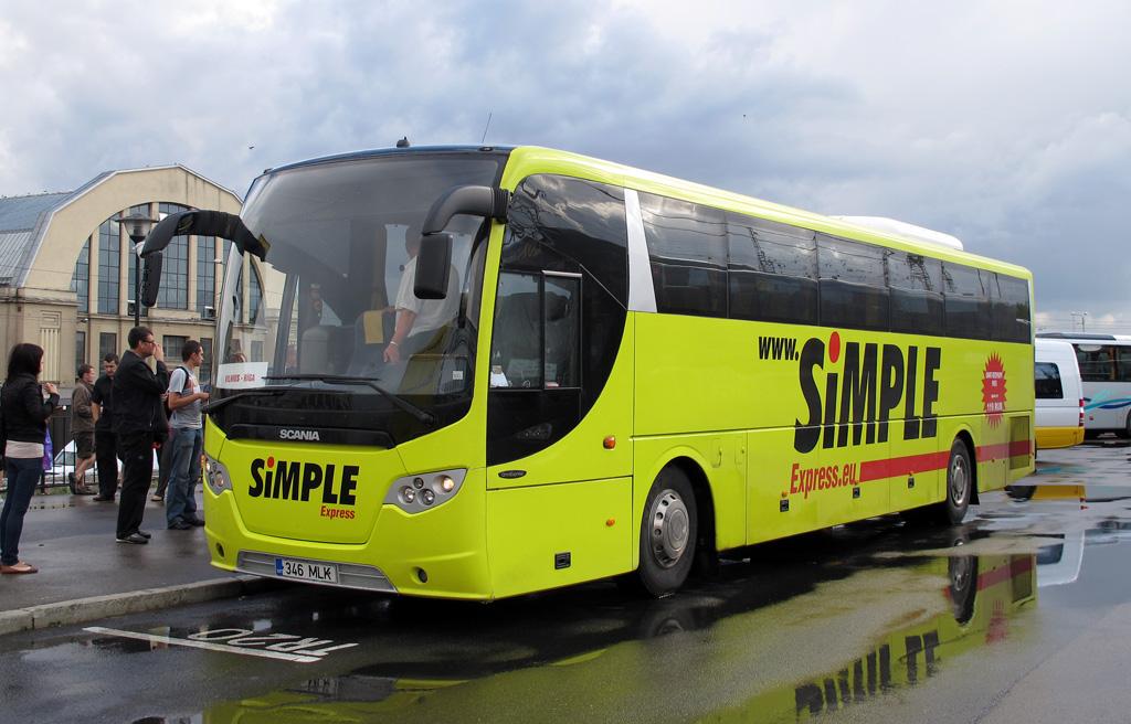 Tallinn, Scania OmniExpress 340 № 346 MLK