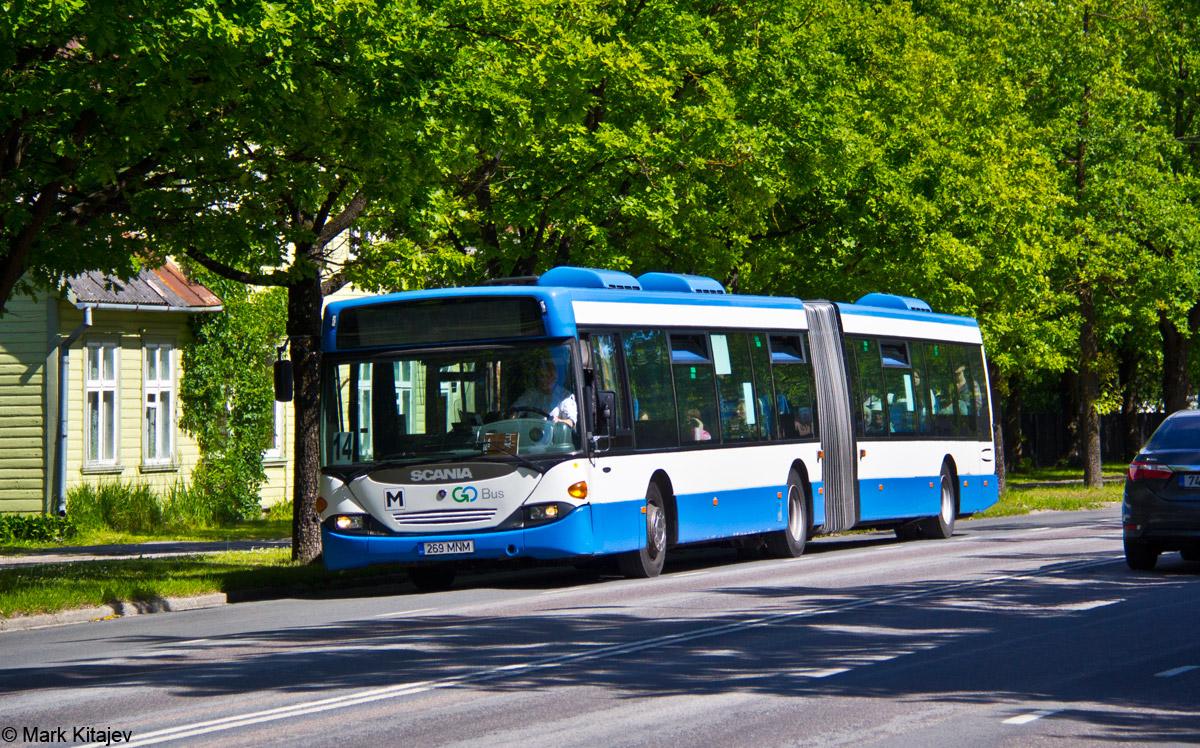 Pärnu, Scania OmniCity CN94UA 6X2 № 269 MNM