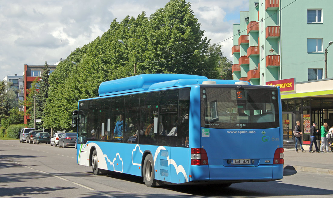 Pärnu, MAN A21 Lion's City NL313 CNG № 451 BJN