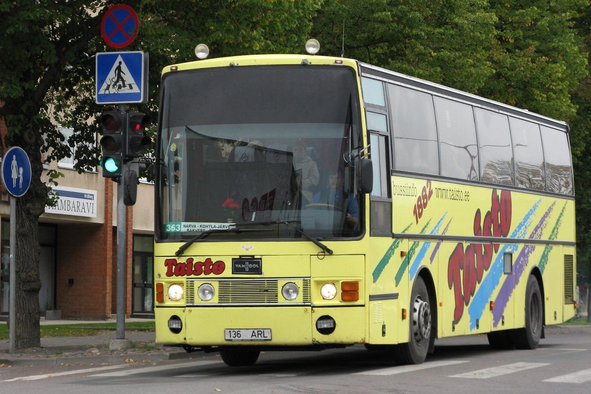 Antsla, Van Hool T8 Alizée 370 № 136 ARL