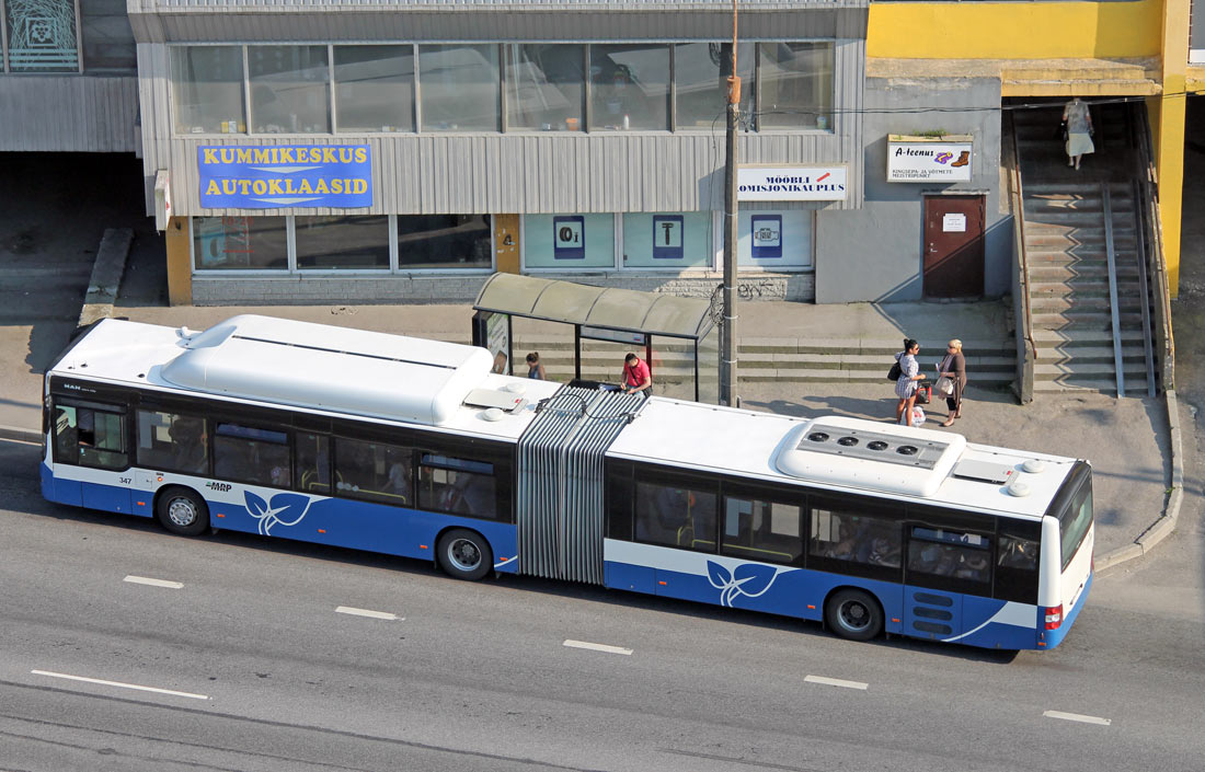 Tallinn, MAN A23 Lion's City G NG313 CNG № 347