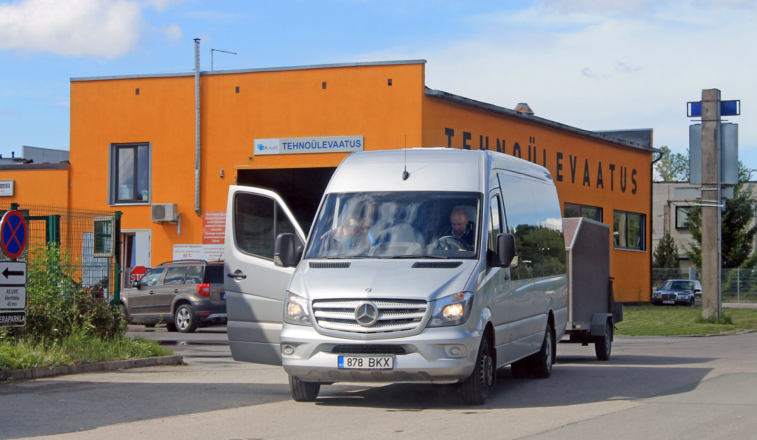 Tallinn, Mercedes-Benz Sprinter 516CDI № 878 BKX