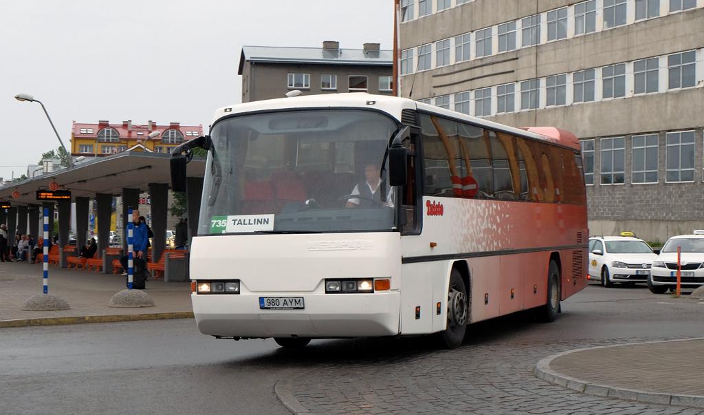 Antsla, Neoplan N316Ü Transliner № 980 AYM