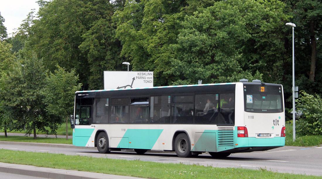 Tallinn, MAN A78 Lion's City LE EL293 № 1118