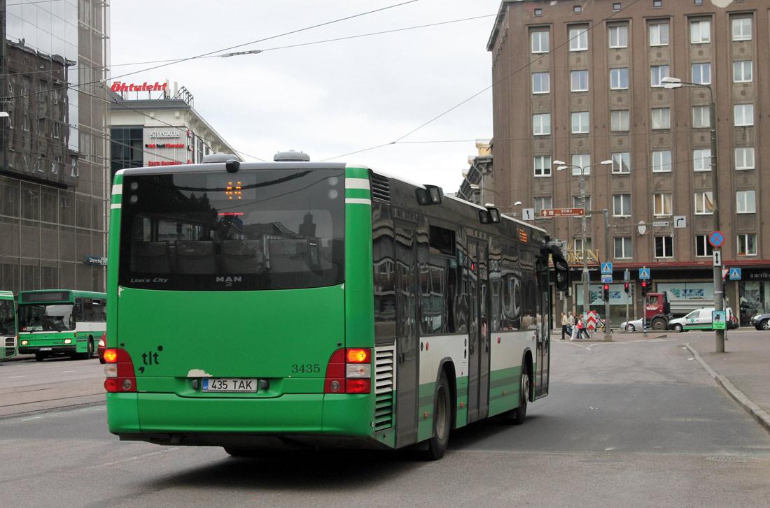 Tallinn, MAN A78 Lion's City LE № 3435