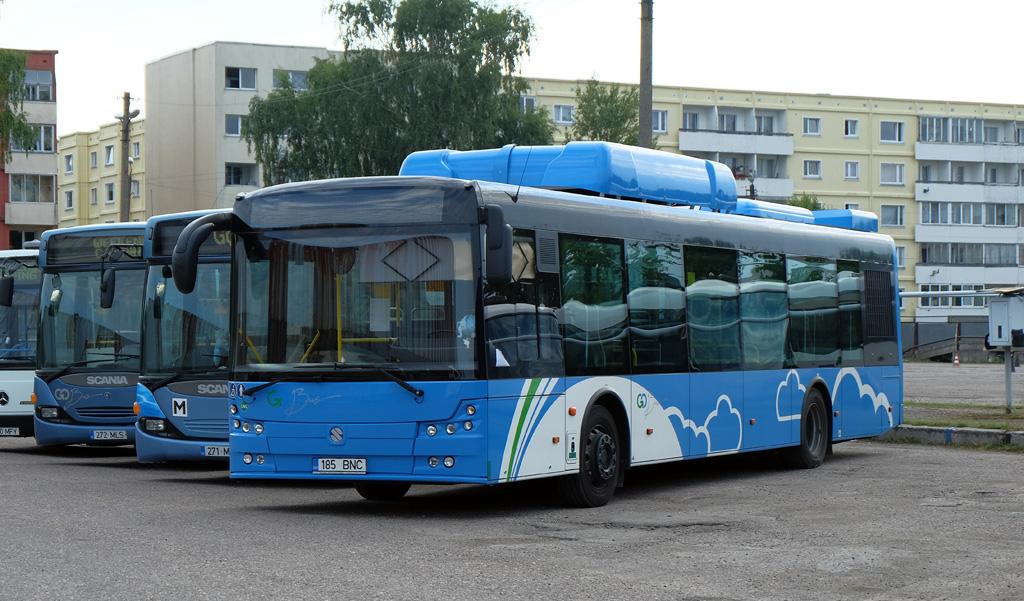 Pärnu, Solbus Solcity SM12 CNG № 185 BNC
