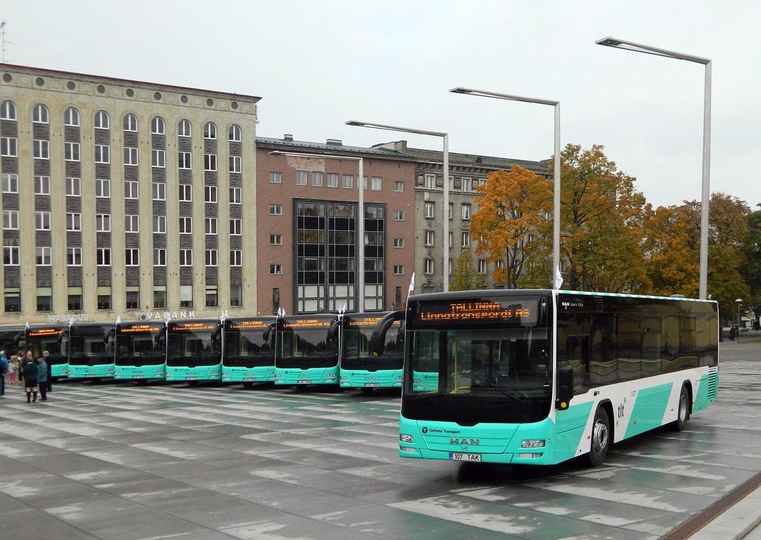 Tallinn — MAN busside II partii linnaliinide tarbeks (normaal- ja liigendbussid)