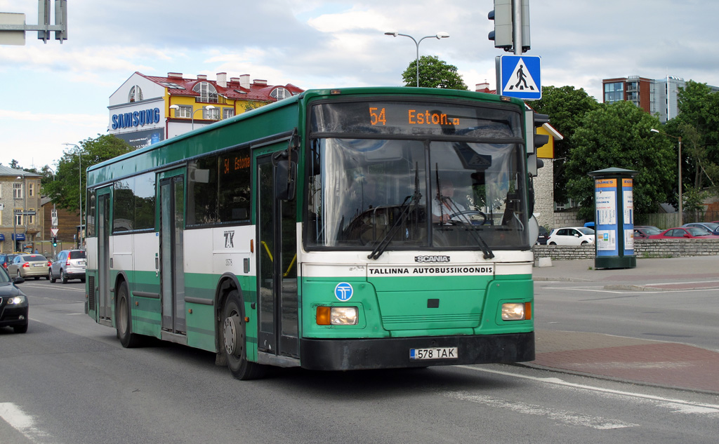 Tallinn, Duple Metsec T-76 City № 3578