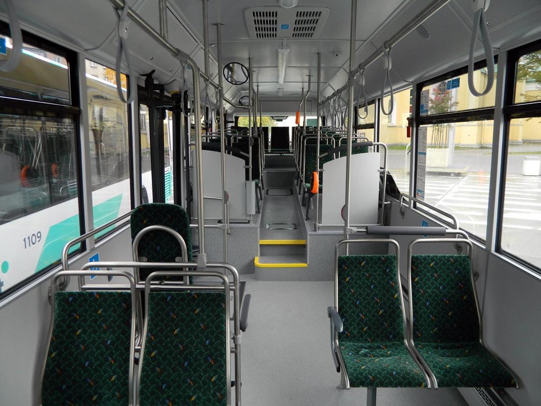 Tallinn, MAN A78 Lion's City LE EL293 № 1108 Tallinn — MAN busside II partii linnaliinide tarbeks (normaal- ja liigendbussid)