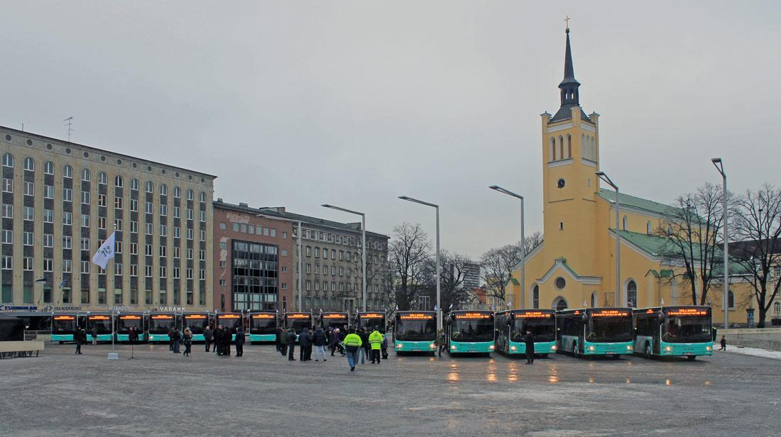 Tallinn — MAN busside III partii linnaliinide tarbeks (normaal- ja liigendbussid)