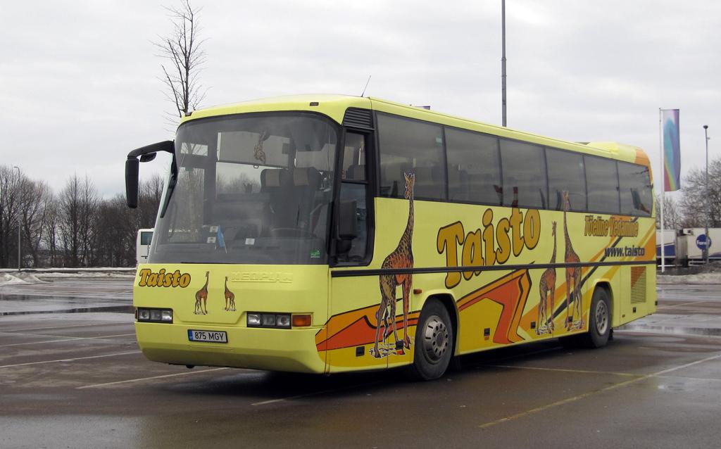 Antsla, Neoplan N316SHD Transliner № 875 MGY