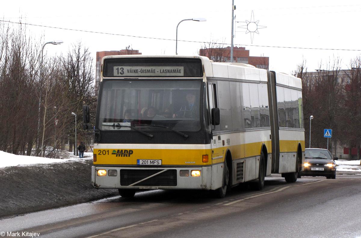 Tallinn, Berkhof Europa 2000A Duvedec № 201