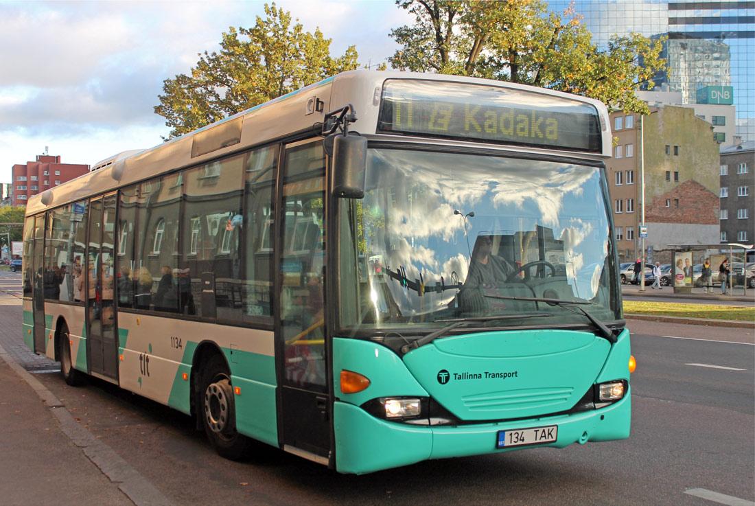 Tallinn, Scania OmniLink CL94UB № 1134
