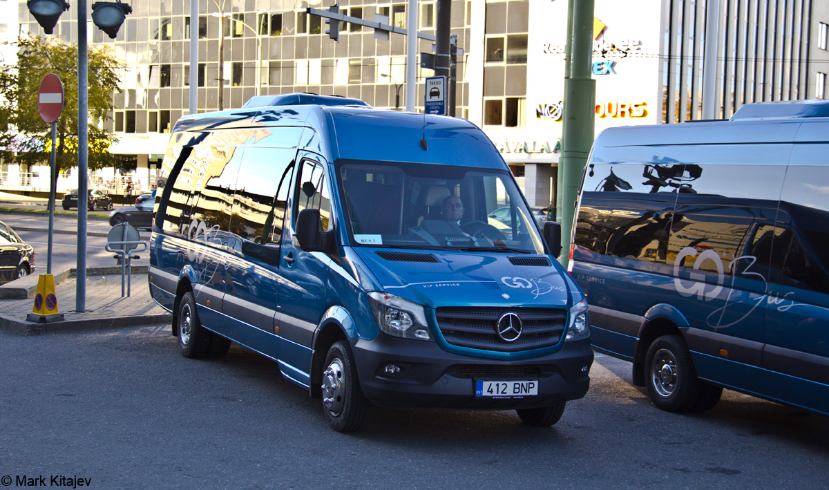 Tallinn, Mercedes-Benz Sprinter 519CDI № 412 BNP