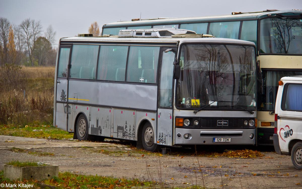 Jõhvi, Van Hool T809 Alizée № 129 TDK