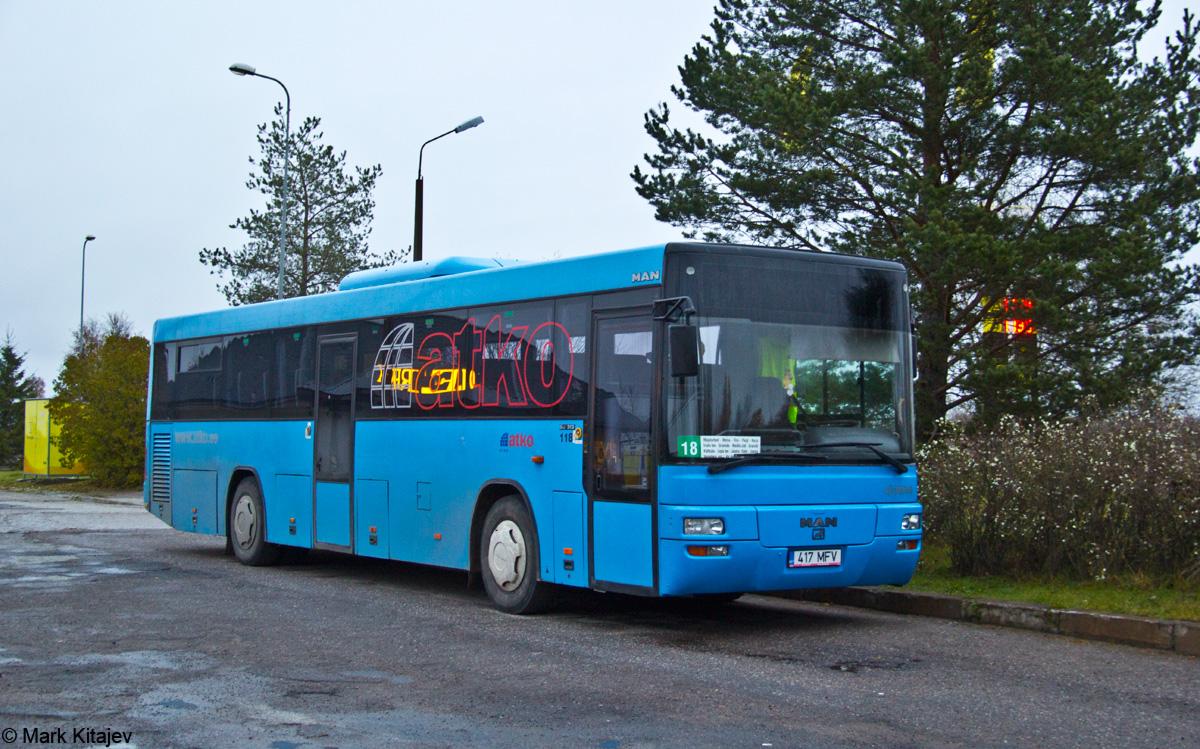 Kohtla-Järve, MAN A72 Lion's Classic SÜ313 № 417 MFV