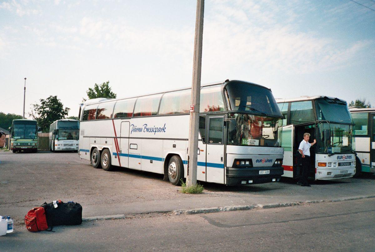 Pärnu, Neoplan N116/3H Cityliner № 303 AOM