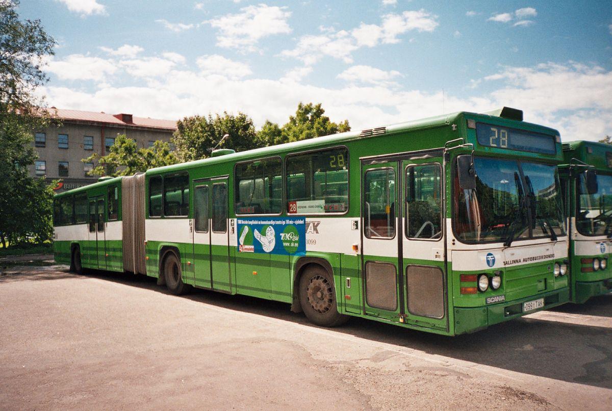 Tallinn, Scania CN113ALB № 1099