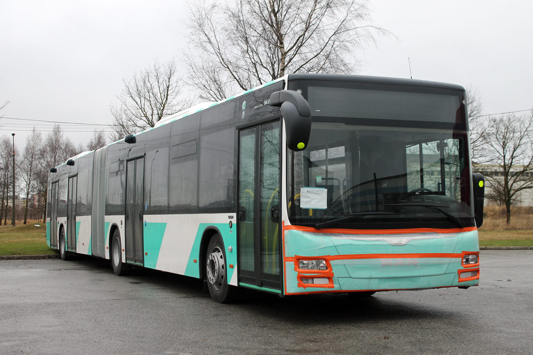 Tallinn — MAN busside IV partii linnaliinide tarbeks (normaal- ja liigendbussid)