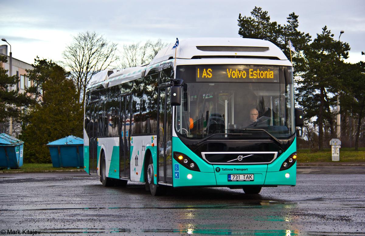 Tallinn, Volvo 7900 Hybrid № 2731